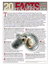 20 Facts about Ocean Acidification