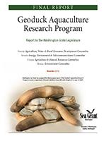 Geoduck final report 2013