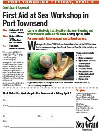 First Aid At Sea April 5 Port Townsend Flyer PDF