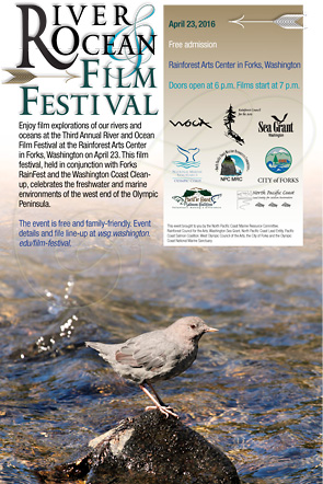 Poster of 2016 River and Ocean Film Festival