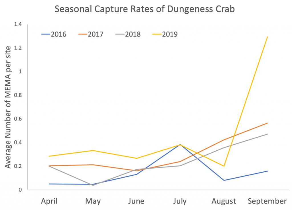 MEMA Capture Rate Graph- 2016-2019