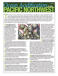 Ocean acidification in the Pacific Northwest