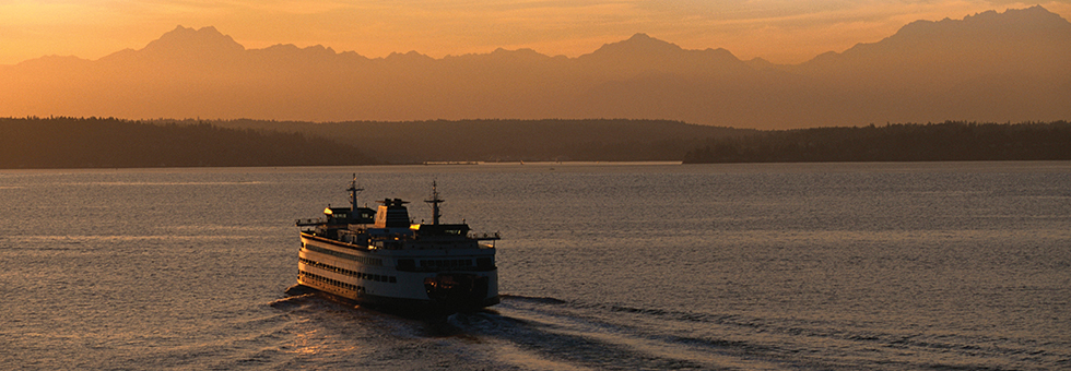 Ferry Boat in Elliot Bay