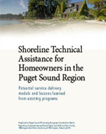 Shoreline Technical Assistance for Homeowners in the Puget Sound Region cover image