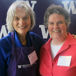 Photo of Teri King and Dean Lisa Graumlich