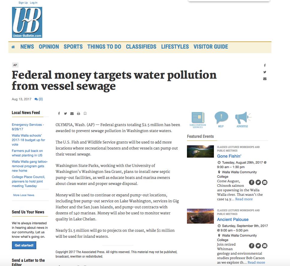 Washington Sea Grant in the News – Washington Sea Grant